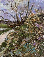 River bank in winter, c.1881, gauguin