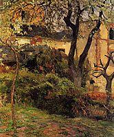 Rouen at spring, 1884, gauguin