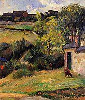 Rouen suburb, 1884, gauguin