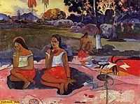 Sacred Spring, 1894, gauguin