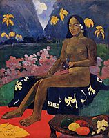 The Seed of the Areoi, gauguin