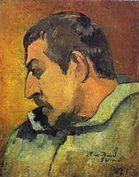 Self Portrait, gauguin