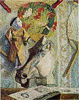 Still life with horse-s head, gauguin