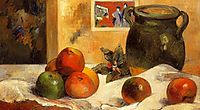 Still life with Japanese print, gauguin