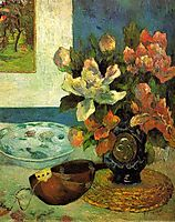 Still Life with a Mandolin, 1885, gauguin