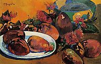 Still life with mangoes, c.1893, gauguin