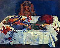 Still Life with Parrots , 1902, gauguin