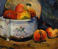 Still Life with Peaches, gauguin