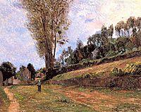 Street in Rouen, gauguin