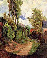 Sunken Lane, gauguin