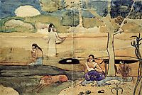 Tahitian Scene, c.1892, gauguin