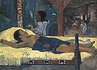 Te Tamari No Atua (the birth), 1896, gauguin