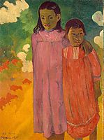 Two sisters, 1892, gauguin