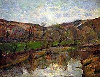 Upstream of Pont-Aven, gauguin