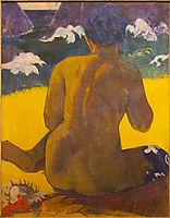 Vahine no te Miti (Woman at the sea), 1892, gauguin