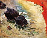 The wave, 1888, gauguin