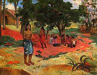 Whispered Words, 1892, gauguin