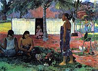 Why Are You Angry? , gauguin