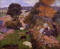 Willows , gauguin
