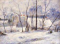 Winter Landscape, gauguin