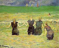 Women bathing (Dieppe), gauguin