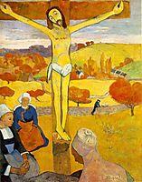 The Yellow Christ, 1889, gauguin