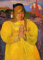 Young Christian Girl, gauguin