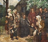 Let the Little Children Come Unto Me, 1908, gebhardt
