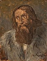 Portrait of a Bearded Man (Head of an Apostle?), gebhardt