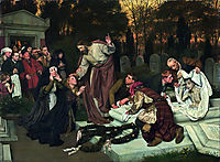 The Raising of Lazarus, 1896, gebhardt