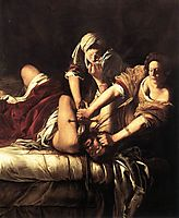 Judith Beheading Holofernes, 1620, gentileschi