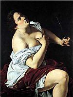Lucretia, 1620, gentileschi