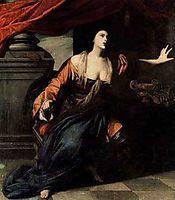 Lucretia, 1642, gentileschi