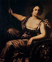 Minerva, 1640, gentileschi