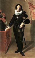 Portrait of a Condottiero, 1622, gentileschi