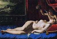 Sleeping Venus, 1630, gentileschi