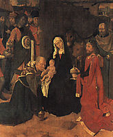 The Adoration of the Magi, c.1490, gerarddavid
