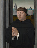 An Augustinian Friar Praying, gerarddavid