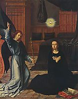 The Annunciation, c.1520, gerarddavid