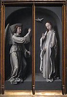 Archangel Gabriel and Virgin Annunciate, c.1505, gerarddavid
