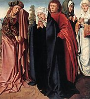 The Holy Women and St. John at Golgotha, 1485, gerarddavid