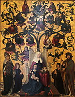 Lineage of Saint Anne, c.1500, gerarddavid
