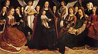 Madonna with Angels and Saints, 1509, gerarddavid