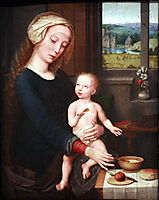 Madonna with the Milk Soup, c.1520, gerarddavid
