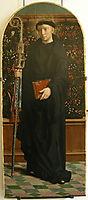 Polyptych of Cervara: St. Mauro, 1506, gerarddavid