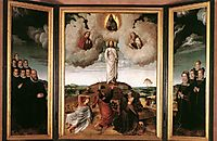 The Transfiguration of Christ, 1520, gerarddavid