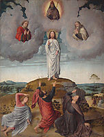 The Transfiguration of Christ (central panel), 1520, gerarddavid