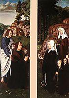 Triptych of Jean Des Trompes (side panels), 1505, gerarddavid