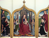 Triptych of the Sedano Family, c.1495, gerarddavid