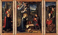 Triptych with the Nativity, 1515, gerarddavid